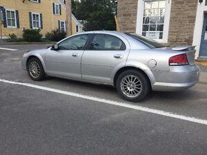 2004 4 Door Chrysler Sebring (with spoiler)
