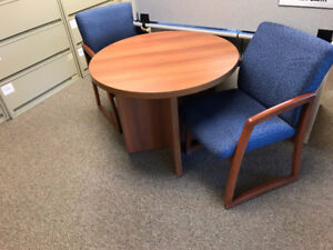 Office Chairs and Table