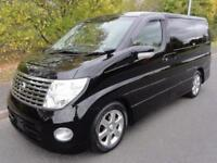 2007 Nissan Elgrand 3500 HIGHWAY STAR LEATHER FRESH IMPORT 5dr