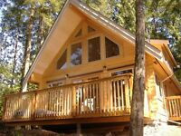 The Pender Log Cabin Sale Is On Until March 31st!