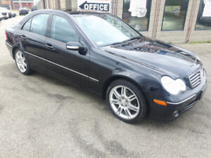2007 MERCEDES C280 PREMIUM  ONLY 133000 KMS  LOADED