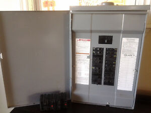 Square D QO 100amp electrial panel - loaded with breakers
