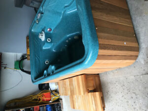 Great plug in 110v 2-3 person hot tub for sale like new