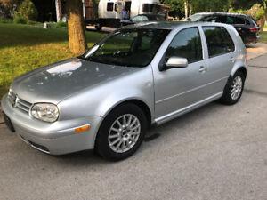 ***2002 VW Golf TDI, $3850, 5 speed, 363000 kms,  *Certified*