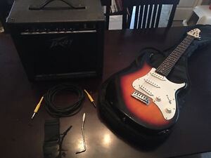 Beginner guitar and amp Strathcona County Edmonton Area image 1