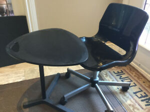"IKEA LAPTOP DESK & OFFICE CHAIR ""SNILE & DAVE"""