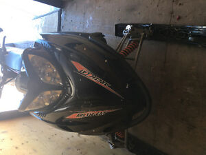 2008 crossfire 800 great deal hardly used