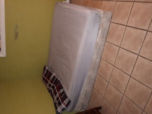 Queen Bed Mattress + Box Spring