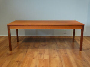 Table basse en teck / Teak coffee table / Scandinavian