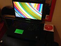 Alienware 17 3D 120Hz Intel Core i7-4910MQ 16GB Ram 1TB+80GB SSD GTX 765M Gaming Laptop