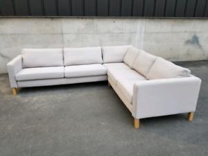 Ikea Karlstad sectional sofa