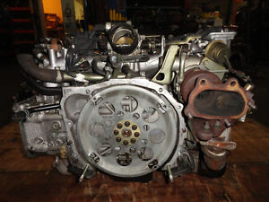 JDM SUBARU WRX EJ20 TURBO ENGINE WITH OUT AVCS SENSOR Gatineau Ottawa / Gatineau Area image 7