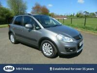 2011 SUZUKI SX4 1.6 X-EC 5DR ONLY 83,000 MILES MOT DECEMBER HIGH SPEC JUKE FOCUS