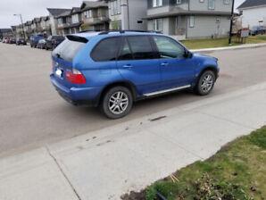 2003 Blue Bmw X5 V6 3.0i **Reduced Price