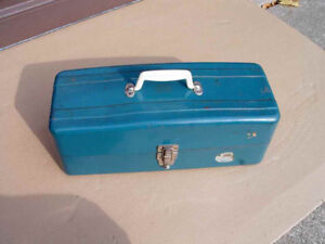 Vintage Fishing Tackle Box (New Price)