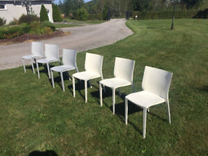 Philipe Starck XO Slick Slick Stackable Chairs 6x