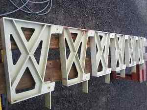 6 supports de banc de patio