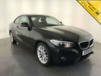 2015 BMW 218D SE DIESEL COUPE 1 OWNER SERVICE HISTORY FINANCE PX WELCOME