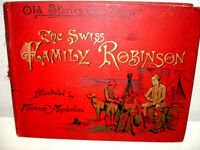 1891 SWISS FAMILY ROBINSON old stories told anew TRISCHLER rare