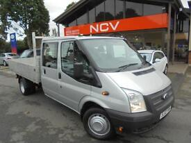 2012 FORD TRANSIT T350 DROPSIDE DOUBLE CAB MANUAL