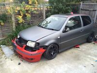 VOLKSWAGEN POLO UNFINISHED PROJECT MODIFIED SHOW CAR SPARES OR REPAIRS