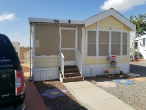 Yuma Park Model for rent at Del Pueblo 55+ Resort