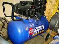 Compresseur 4hp 20 gallons campbell industriel