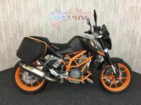 KTM DUKE KTM DUKE 390 ABS MODEL SIDE LUGGAGE LOW MILES 2015 15