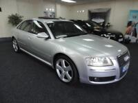 2008 AUDI A8 TDI QUATTRO SPORT + SUNROOF + NEW SERVICE AND MOT + SALOON DIESEL