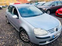 2007 Volkswagen Golf GT Tdi 2.0, Full leather