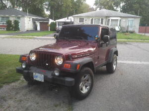 2003 Jeep TJ with $8k new plow! REDUCED!