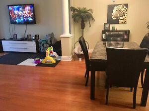 Very large 2 bedroom, 2 bathroom with sun room/office area