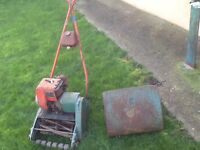Lawn mower with box