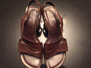 Simard leather sandals West Island Greater Montréal image 1