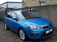 "10 10 FORD FOCUS 1.6 ZETEC SPORT 5DR 17"" ALLOYS PRIVACY CD AIRCON SPORTS SEATS"