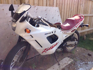 1989 Suzuki Katana - SACS oil cooled  *for parts or project*
