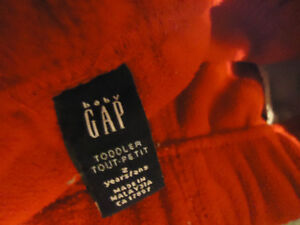 Boys Size 2 Red Fleece Joggers by GAP Kingston Kingston Area image 3