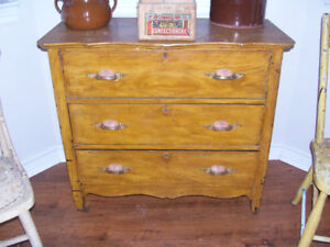 Antique Dresser 35 by 18 and 31 Tall For sale