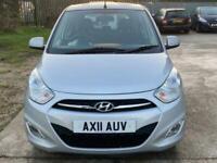 2011 Hyundai i10 1.2 ACTIVE 5d 85 BHP Hatchback Petrol Manual
