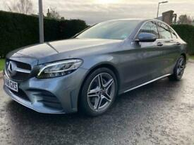 2018 Mercedes-Benz C Class 1.5 C200 EQ Boost AMG Line G-Tronic+ (s/s) 4dr