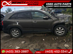 2012 KIA SORENTO FOR PARTS PARTING OUT CARS CAR PARTS