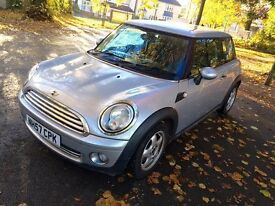 2007 MINI ONE 1.4 FACELIFT MODEL WITH STOP/START **STUNNING IN SILVER WITH LOW RUNNING COSTS**