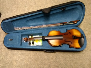 BRAND NEW FIDDLE VIOLIN SET