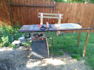 "10"" craftsmen table saw"