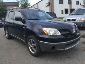 2006 Mitsubishi Outlander AWD *LOW KM & CERTIFIED*