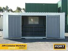 20ft (6m) Workshop Shipping Containers Newcastle Newcastle 2300 Newcastle Area Preview