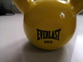 Kettlebel coated 8 kg