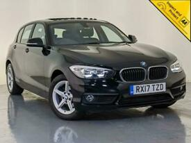 image for 2017 BMW 118D SE SAT NAV SUNROOF CLIMATE CONTROL £20 ROAD TAX SERVICE HISTORY
