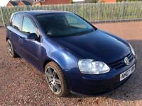 07 Reg Volkswagen Golf Match 1.9TDi 105ps