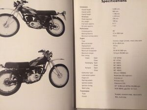 Kawasaki KE175 Motorcycle Shop Manual Regina Regina Area image 2